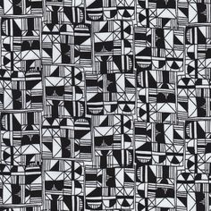 Stacked from Miscellany by Julia Rothman for Cloud9 Fabrics