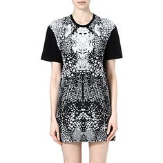 MCQ ALEXANDER MCQUEEN - Printed t-shirt dress | Selfridges.com