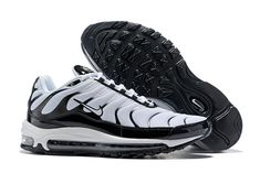 fae0f1f0c07 New Release Nike Air Max 97 Plus Men  Black White White Black Cushioning  Running Shoes