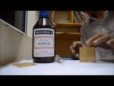 hoachatkythuat: HƯỚNG DẪN SỬ DỤNG KEO DÁN MICA ( how to glue clear acrylic sheets ) Acrylic Glue, Clear Acrylic, Vodka Bottle, Tech, Youtube, Technology, Youtubers, Youtube Movies