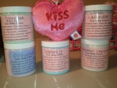 Lotions..all natural..any scent in stock