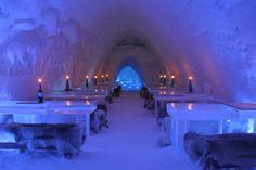 Ice-Bar in Finnland