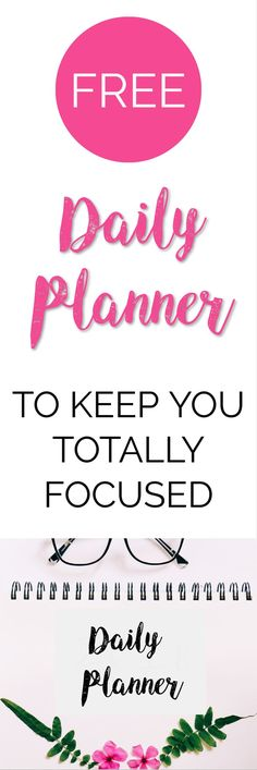 If you're looking for a FREE daily planner printable you have come to the right place! This gorgeous daily planner will keep you feeling focused & organised Daily Planner Printable, Real Moms, Work From Home Tips, Time Management Tips, Make Money Blogging, Starting A Business, How To Start A Blog, 3d Printing, How Are You Feeling