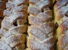 Kígyórétes – Tegnap sütöttem körtés töltelékkel! Isteni finom lett!!! Sweet Cookies, Hungarian Recipes, Strudel, Winter Food, Macarons, Baked Goods, Cookie Recipes, Banana Bread, Deserts