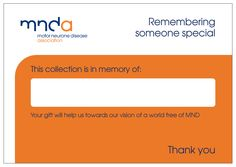 In Memorium Envelope Covers - Can be ordered to distribute at funeral parlors; memorial services
