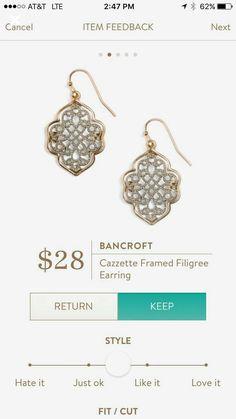 Stitch Fix Bancroft Earring
