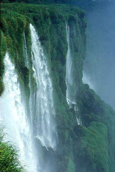 Iquazu Falls. South America.