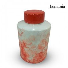 Tibor Stoneware Red (20 X 20 X 32,5 Cm) By Homania