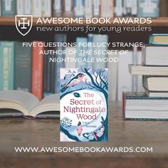 The latest #awesomebookawards Q&A session with Lucy Strange is now online! 🦋 Read it here: www.awesomebookawards.com/5-questions-for-lucy-strange #cranleigh #cranleighschool #cranleighprep #surrey #awesomebookawards #awesomebookawards2018 #booksawards #authorawards #aba2018 #lucystrange