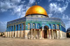Jerusalem - A beautiful city consisting of 1204 synagogues, 158 churches and 73 mosques. one day...