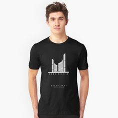 Beton Brutees - Toronto City Hall Unisex T-Shirt Front  Brutalist Building Architecture Concrete BetonBrutees