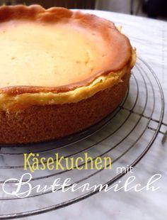 Käsekuchen mit Buttermilch | einfach himmlisch – geniesserle