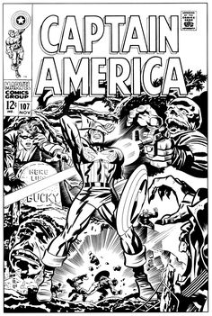 This is a recreation of Jack Kirby & Frank Giacoia's cover art to…