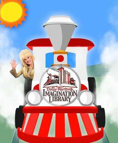 This is a free book program sponsored by Dolly Parton, for all kids under 5 years old, a free book every month.