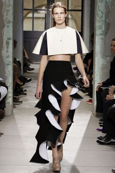Balenciaga Spring 2013 Ready-to-Wear Fashion Show - Julier Bugge (IMG)