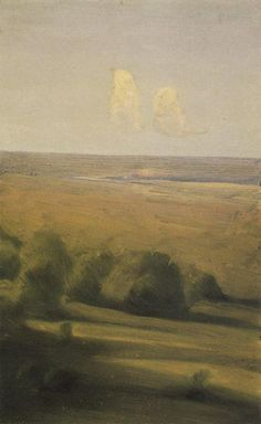 Gustave Caillebotte — artist-kuindzhi: Evening in the steppe, Arkhip. Russian Landscape, Landscape Art, Fine Art Posters, Art Database, Oil Painting Reproductions, Tumblr, Russian Art, Office Art, Poster Making