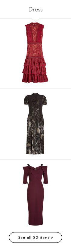 """Dress"" by aryery06gemini ❤ liked on Polyvore featuring dress, dresses, red, jonathan simkhai dress, no sleeve dress, high neck dress, red high neck dress, sleeveless dress, black and paisley pattern dress"