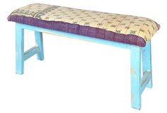 Avery Upholstered Bench  on OneKingsLane.com