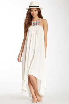 6 Shore Road Paradiso Embroidered Midi Dress by 6 Shore Road on @HauteLook