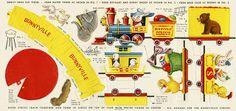 Il favoloso mondo di carta di Totò: Bunnyville Circus