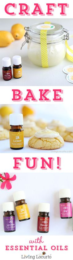 Young Living Essential Oil: Use in recipes, crafts, homemade cleaning products and natural wellness
