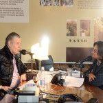 Lucía Corpacci con Víctor Hugo Morales en La mañana de Víctor Hugo por Radio Continental