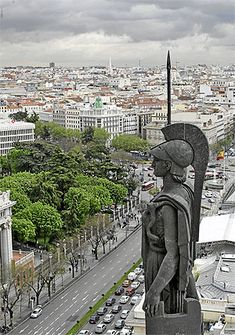 Madrid, Spain in summer of The regular police had bayonetes at many street corners at that time. Foto Madrid, Madrid Barcelona, Places Around The World, Around The Worlds, Portugal, Europe, Culture Travel, Best Cities, Architecture