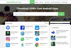 Download free the best android apk from Android khan. Basically, Android khan is a website from anyone can download free latest android apps, android apks for android phones and tablets with online apk downloader on androidkhan.com