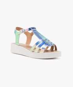 Sandales vernies Argent