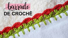 Youtube Crochet Patterns, Crochet Edging Patterns, Crochet Borders, Embroidery On Kurtis, Kurti Embroidery Design, Beginner Crochet Projects, Crochet For Beginners, Candle Holders Wedding, Baby Gifts
