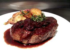 Savory Steak With A Wine Reduction