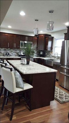 Kitchen:Light Colored Granite Names Black Granite Countertops Dark Gray Countertops How Much For Quartz Countertops Black Quartz Countertops Best Modern Light Colored Granite Countertops With White Cabinets #KitchenCountertopgranitedark #KitchenCountertopgranitemodern