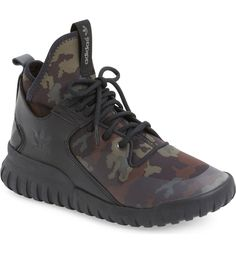 Free shipping and returns on adidas 'Tubular X - Camo' Sneaker (Men) at Nordstrom.com. Meshing basketball shoe details with cool, streetwise style, this retro-futuristic sneaker built from lightweight synthetic materials is splashed with sporty appeal and a sleek camo-print pattern.
