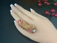 Bridal Earrings, Ring Earrings, Statement Earrings, Bridal Jewelry, Pearl Jewelry, Indian Jewelry, Pendant Jewelry, Gold Jewelry, Gold Finger Rings