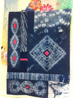 Shibori - Anyone who's tried shibori knows how difficult it is to achieve these effects!