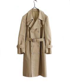 """LILY1ST VINTAGE 1970'S ITALIAN TRENCH COAT """"Z"""" http://floraison.shop-pro.jp/?pid=87071792"""