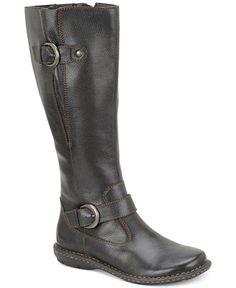 bccff1884fd b.o.c Faye Leather Wide Calf Boots