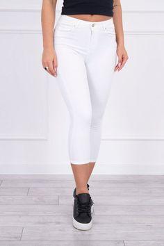 Blugi dama alb - 79 Lei -    Compozitie:  95% bumbac ,  5% lycra. -   Comanda acum!  #divashopromania #divashop #hainefemei #blugi  #fashion #fashionista #fashionable #fashionaddict #styleoftheday #styleblogger #stylish #style #instafashion #lifestyle #loveit #summer #americanstyle #ootd #ootdmagazine #outfit #trendy #trends #womensfashion #streetstyle #streetwear #streetfashion #shopping #outfitoftheday #outfitinspiration #ootdshare #trendalert #boutique #haine #romania Fashion Addict, Outfit Of The Day, White Jeans, Street Wear, Street Style, Boutique, Stylish, Womens Fashion, Outfits