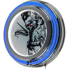 U.S. Army The Horn Calls Neon Clock, 14 inch Diameter, Multicolor