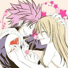 Fairy Tail Natsu et Lucy Fairy Tail Lucy, Fairy Tail Family, Fairy Tail Art, Fairy Tail Guild, Fairy Tail Couples, Fairy Tail Ships, Fairy Tail Anime, Fairy Tales, Nalu