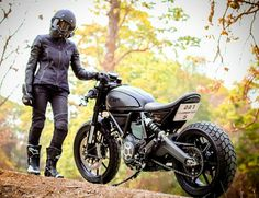 Ducati Scrambler Cafe Racer custom                                                                                                                                                                                 More