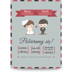 Zaproszenie ślubne - szablon MZS119 Wedding Ideas, Digital, Google, Books, Libros, Book, Book Illustrations, Libri