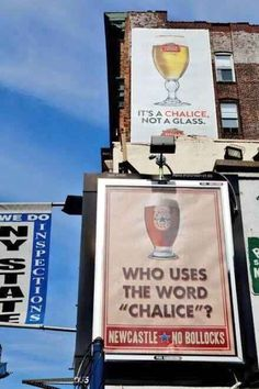 The war between BMW vs Audi seems to be over, now its Newcastle Brown ambushing a Stella Artois advert.I love the fun they have when they create these kind of advert wars. Wonder if Stella Artois will come back with something or just leave it as is.