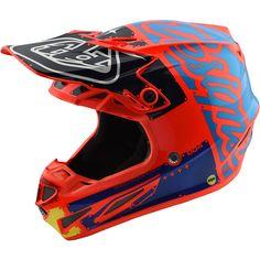 100/% HI SIDE MOTOCROSS MTB da uomo 2018-Orange Motocross Enduro MX CROSS