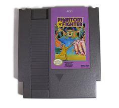 Phantom Fighter Nintendo NES 1990 Retro Video Game by Retro8Games
