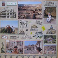 Italy. Rome - Scrapbook.com