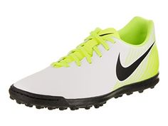 newest 54e59 b3638 Amazon.com  NIKE Mens Magistax Ola II Tf WhiteBlackVoltWolg Grey Turf  Soccer Shoe 7.5 Men US  Shoes