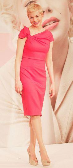 Best Dressed: Michelle Williams in Valentino