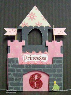 Jolie carte princesse