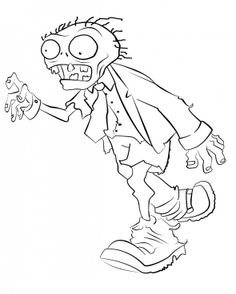 10 zombies-ideen | zombie, ausmalbilder, pflanzen gegen